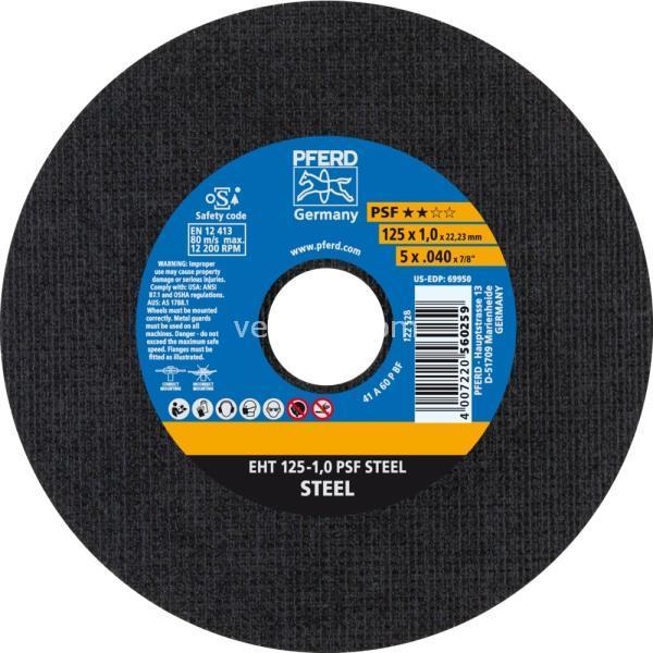 Immagine di EHT 125-1.0 PSF STEEL (A60 P PSF)